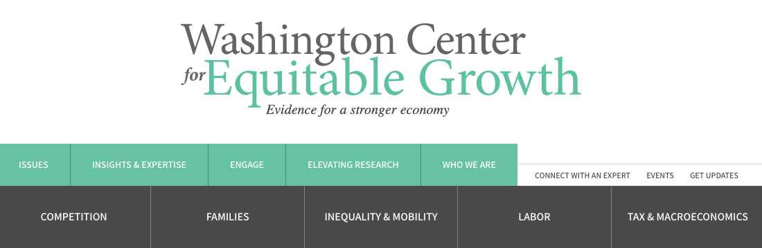 Washington Center for Equitable Growth